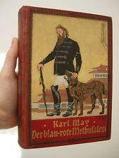KARL MAY der blau-rote Methusalem UNION Ausgabe von 1908 !!!!!  RARE