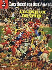 Les dossiers du canard n°3 du 06/1982 Les enjeux du stade Sports