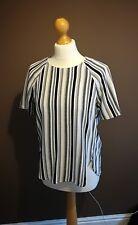 H&M stripe t shirt size Eur 36 UK 10