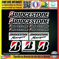 planche de 11 Stickers Autocollant bridgestone sponsor decal pneu rallye tuning