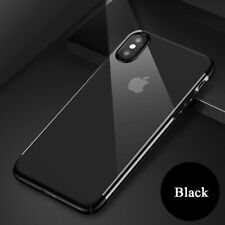 2 x iPhone Max Case Clear Transparent Bumper Shockproof Protective Cover