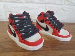 Nike Air Jordan Style Cake Topper Edible Shoe Decorations