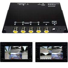 Multiplexer Auto-Einparkhilfe-Set Monitor Bildschirm Separator Splitter Recorder