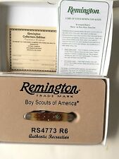 BOY SCOUT,VINTAGE 2011,OFFICIAL REMINGTON,POCKET KNIFE,NEW IN BOX,MINT,VERY NICE