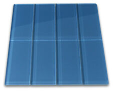 Glacier Glass Subway Tile 3x6 for Backsplashes, Showers & More - SQFT