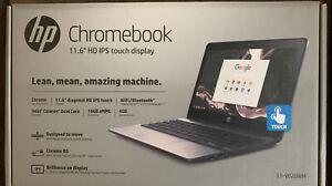 """HP Chromebook 11-V020WM 11.6"""" (Intel Celeron N, 1.6 GHz, 4 GB RAM, 16 GB..NEW"""