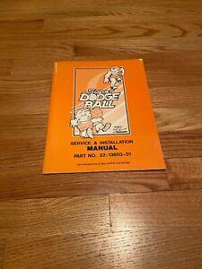 Super Dodge Ball Video Arcade Game Manual, Technos 1987 NOS