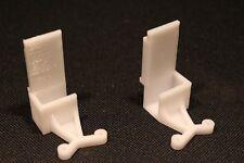 Paires Guides / glissieres portes coulissantes sur rail placards FORM / OPTIMUM