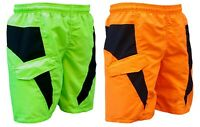 ACCLAIM Fitness Timaru Mens Sports Light Swimming Mesh Liner Shorts Fluorescent