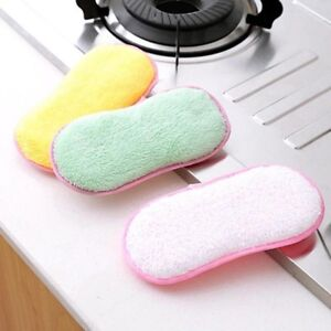X3 PACK Pcs Cleaning Sponge Dish Pad Antibacterial Scrubber MRS HINCH HOT DINKY