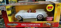 ERTL American Muscle 1953 Chevy Corvette 50th LE Tool Box 1:18 Scale Diecast Car