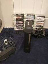 Xbox 360 Elite 120 GB Console 60+games/controllers/headset/kinect/camera/charger