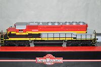 HO Scale Intermountain Kansas City Southern EMD SD40-2 locomotive train DCC
