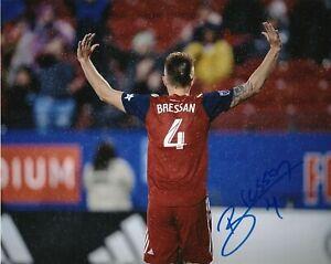 FC Dallas Bressan Autographed Signed 8x10 MLS Photo COA