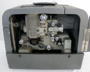 Bell & Howell GB Vintage 16mm Cine Film Projector, Valve Sound Amplifier & Lens