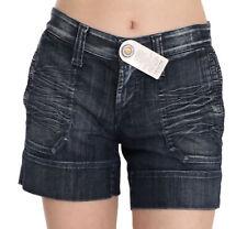 s.O.s. BY ORZA STUDIO Shorts Blue Stretch Cotton Mini s. IT42/US8/M