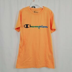 Champion Authentic Athleticwear  Yellow Size M Boys Tee Shirt   m