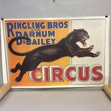 Circus Poster Ringling Bros, Barnum & Baily 23.5x36