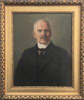 Karl II  Bennewitz von Loefen 1856-1931 Portrait eines Herrn Mann Stettin Antik
