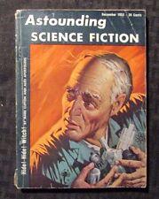1953 Dec ASTOUNDING Science Fiction Digest Magazine G/VG 3.0 Tom Godwin