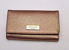 NWT Kate Spade Rucy Newbury Lane Four Ring Key Case Fob Wallet - Rosegold