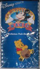 Disney pin - Winnie the Pooh - 12 months of magic birthstone - Amethyst badge