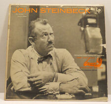 John Steinbeck Reads The Snake & Johnny Bear Columbia Masterworks Records ML4756