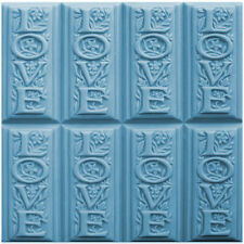 Love Soap Mold Tray. Melt & Pour, Cold Process w/Instructions
