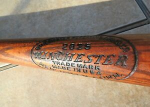 "RARE VINTAGE 1920's WINCHESTER ARMS MODEL 2825 ""BOY'S SPECIAL"" BASEBALL BAT"