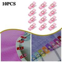 10pcs Multi Color Plastic Clips For Patchwork Sewing Diy Craft Clip