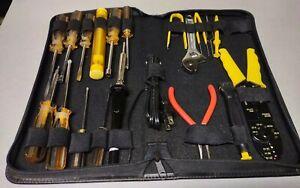 Electric Soldering Iron Tool Kit: Welding Gun, Desoldering Pump, Zip Carry Case