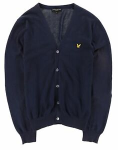 Lyle & Scott Herren Cardigan Pullover Sweater Gr.L Strickjacke V-Neck 117571