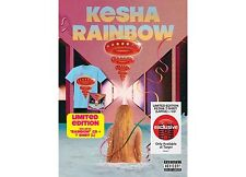 Kesha Rainbow CD w/ large t-shirt target w/ dolly parton eagles of death metal