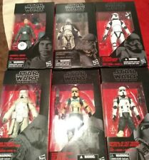 Star Wars Black Series Trooper Figure Lot  General Veers Mimban Scarif ACT more