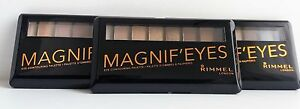 RIMMEL MAGNIF'EYES PALETTE 3 SHADES AVAILABLE NEW
