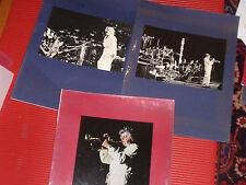 "3 VINTAGE ORIGINAL PHOTOS MAYNARD FERGUSON TRUMPET/HORN JAZZ 11""X14"""
