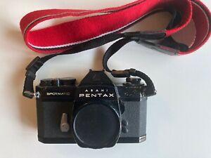 Asahi Pentax Spotmatic SPII Black Film Camera - Body Only