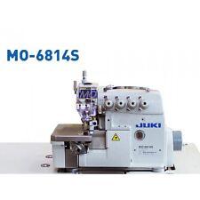 JUKI MO6814S Overlok 4-thread COMPLETE SEWING MACHINE + table + servo