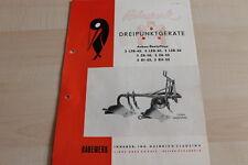 144640) Rabewerk Dreipunkt Anbau-Beetpflüge Prospekt 07/1957