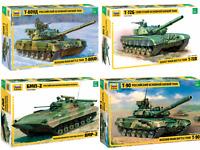 ZVEZDA Soviet / Russian Military Vehicles / Tanks  Model Kits 1:35 Unpainted