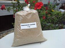 1kg SUPERWORM WORM CASTING FERTILISER ORGANIC FERTILIZER new Australian product