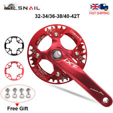 UK 32-42t MTB Road Bike Chainwheel Guards 104bcd Chain Guard Protection Cover