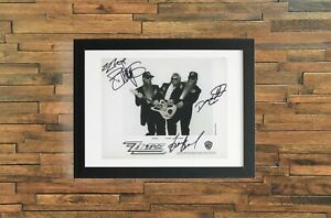 ZZ Top Autographed Signed Reprint 8x10 Photo Poster Print Dusty Hill Gibbons