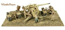 88mm FlaK 18 36 sd. 202 Tow Vehicle German DAK w/8 Figures 1/32 Forces Of Valor