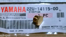 1983 XV 500 VIRAGO New Genuine Yamaha Carb Brass Screw Plug P/No. 22U-14115-00