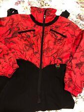 NILS Women's Ski wear one-piece fleece lined ski suit with Stirrups - Size 8 EUC
