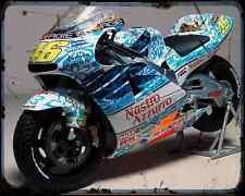 Honda Nsr 500 01 1 A4 Metal Sign Motorbike Vintage Aged