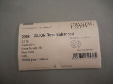 sealed package,1440 swarovski hot-fix flatbacks,16ss crystal AB/foiled #2058