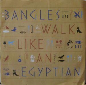"BANGLES - Walk Like An Egyptian - 7"" Single PS"