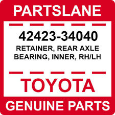 42423-34040 Toyota OEM Genuine RETAINER, REAR AXLE BEARING, INNER, RH/LH